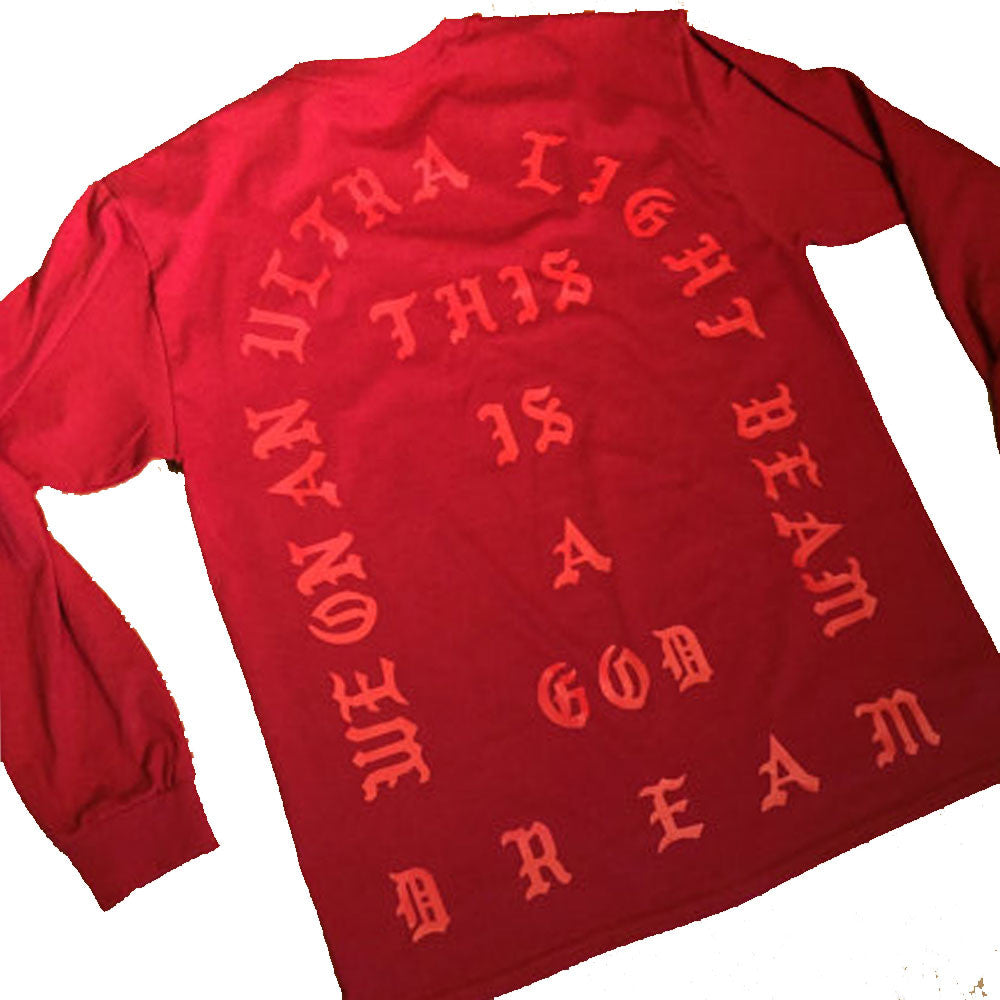 Ultralight Beam TLOP Red Long Sleeve t-shirt