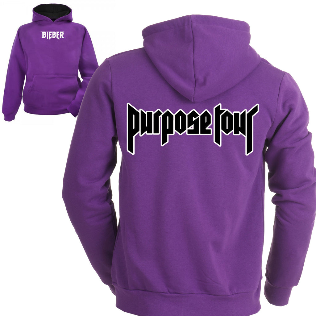 Purpose Tour - Purple Hoodie