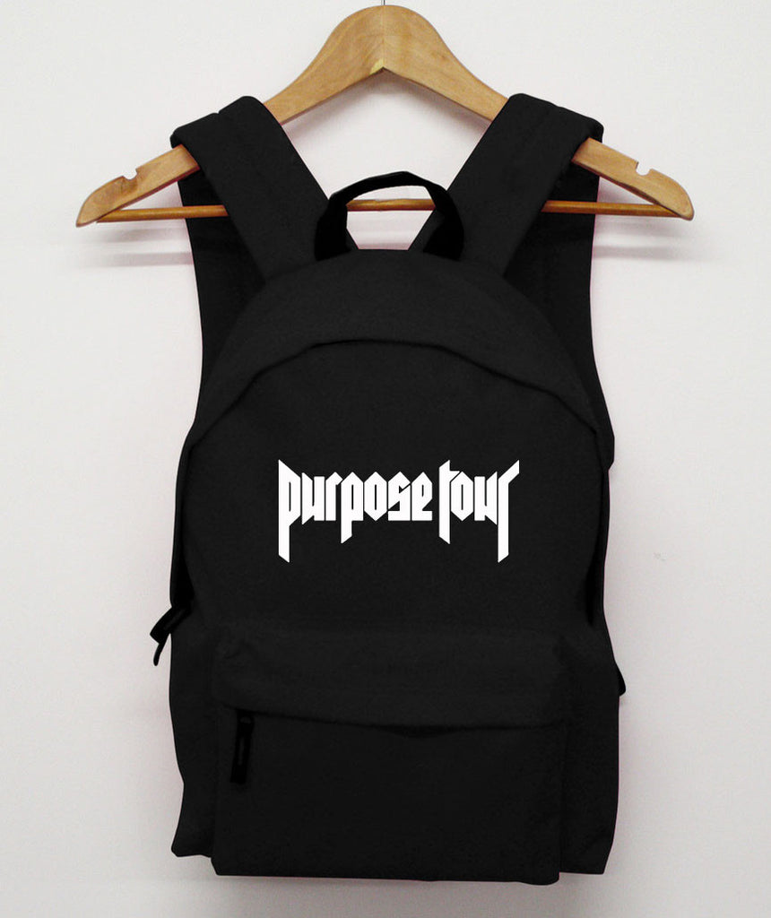 Purpose Tour Black Backpack
