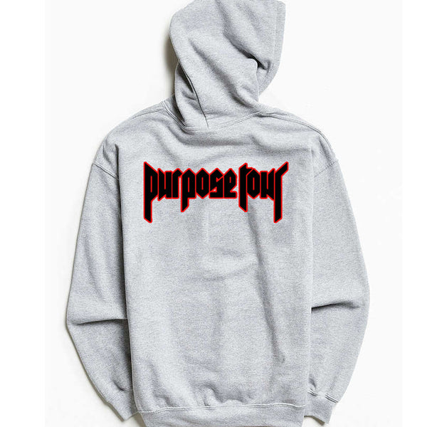 STAFF - Purpose Tour Grey Hoodie