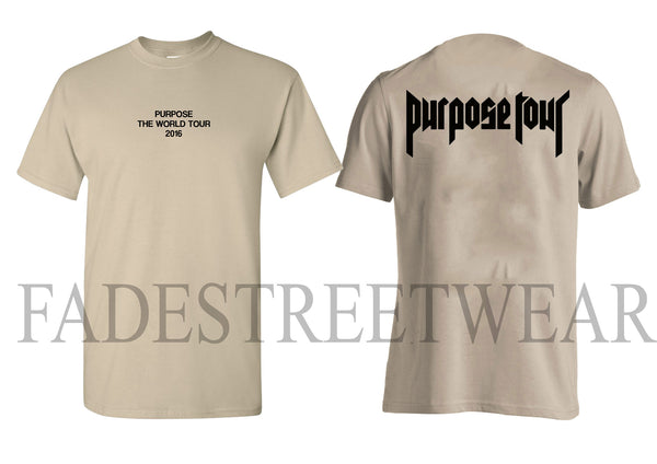 Purpose The World Tour Sand Short Sleeve t-shirt