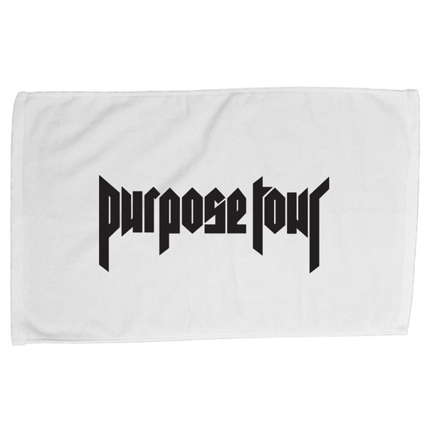 White Purpose Tour Bath Towel
