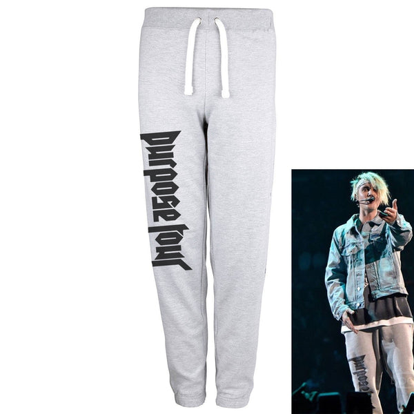 Purpose Tour - Grey Sweatpants