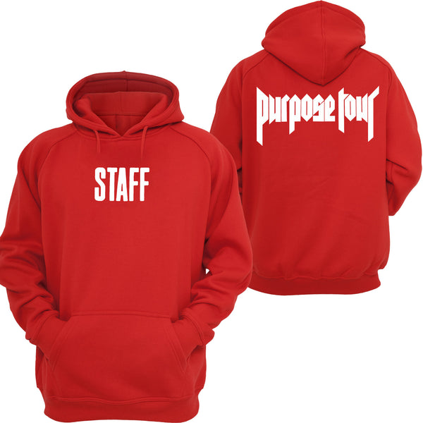 STAFF Purpose Tour - RED Hoodie