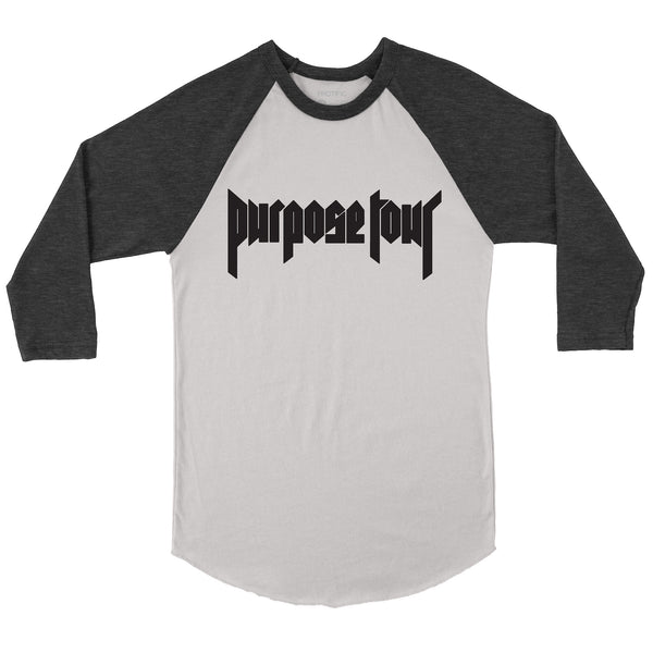 Purpose Tour Baseball Raglan T-Shirt