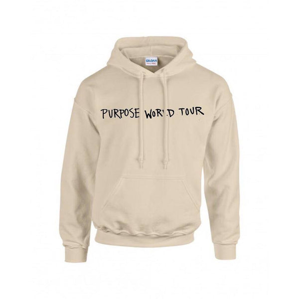 Royal.Bizzle designs Purpose World Tour Sand Hoodie