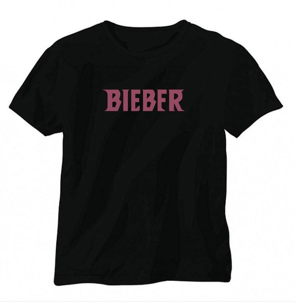 Royal.Bizzle Designs BIEBER Black T-Shirt