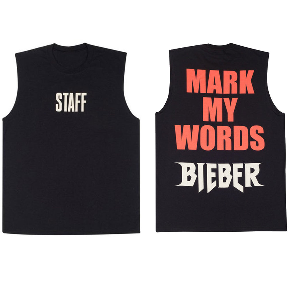 Bigger Than Satan Black Sleeveless Tank Shirt