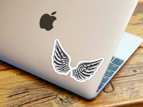 Bieber Wings Tattoo Sticker