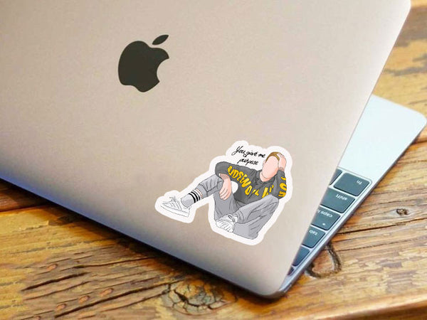 You Give Me Purpose Justin Sticker