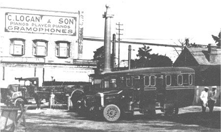 Logans Original Shopfront in Hurstville, 1920.