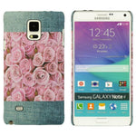 Galaxy Note 4 Luxmo Crystal Rubber Jeans Case in Rose