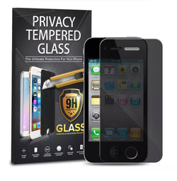 iPhone 4, Privacy Tempered Glass Screen Protector - JandJCases