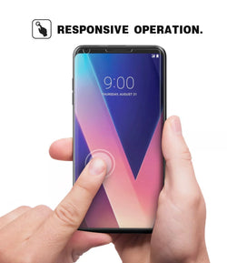 LG V30 Tempered Glass Screen Protector - JAndJCases