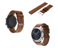Samsung Gear S3, Frontier, Brown Leather Band