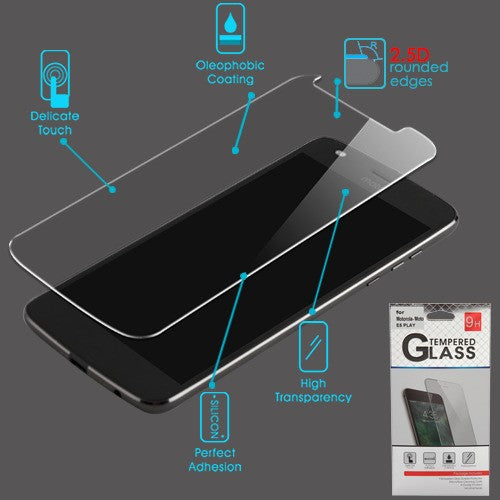 Moto E5 Play Tempered Glass Screen Protector