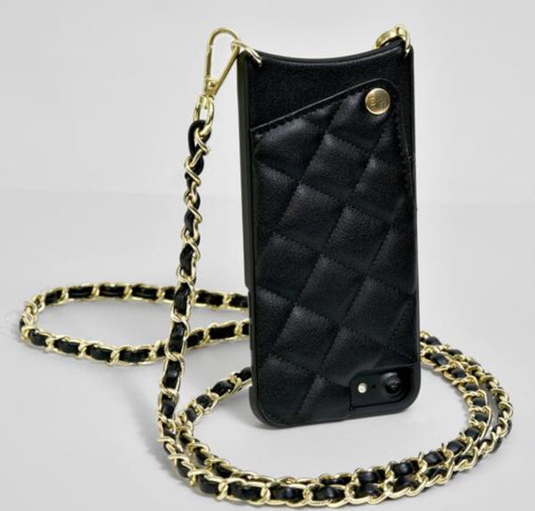 iPhone 6/7/8, Body Wallet with Chain Strap