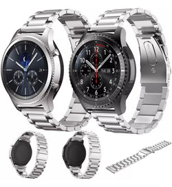 Samsung Gear S3 Frontier And Classic Stainless Steel Watch Bands