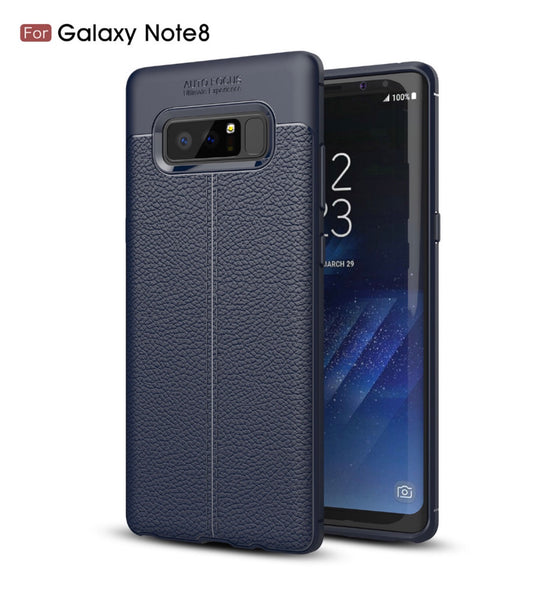 Galaxy Note 8, Luxury Soft Silicone Full Back Phone Case In 3 Colors - JandJCases