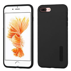 iPhone 7 Plus Black/Black Hybrid Protector Cover - JandJCases