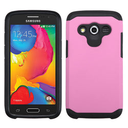 ASMYNA Pink/Black Astronoot Phone Protector Cover for Samsung Galaxy Avant in 2 Colors - JandJCases