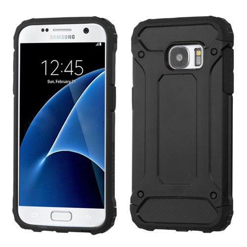 ASMYNA Black/Black Astronoot Phone Case for Galaxy S7 - JandJCases