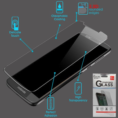 Moto E5 Plus Tempered Glass Screen Protector