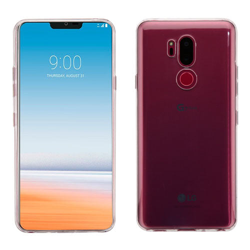 LG G7 Thin Q, Glossy Transparent Clear Candy Skin Phone Case