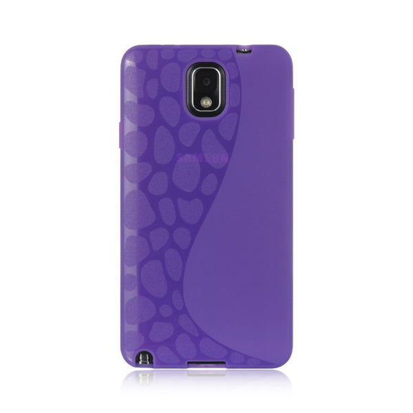Samsung N9000 Galaxy Note 3 Wrap-Up w/ Screen Protector Case - Purple Spot - JandJCases