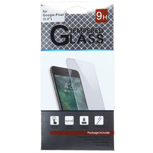 Google Pixel (5.0) Tempered Glass Screen Protector (2.5D)