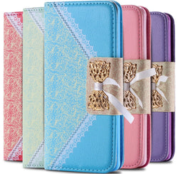 Galaxy Note 4 Luxury Lace Wallet Phone Case - JandJCases