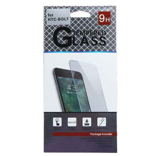 HTC-Bolt Tempered Glass Screen Protector - JandJCases