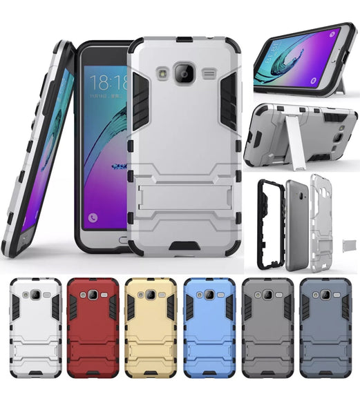 Heavy Duty Shockproof Hybrid Phone Case for Galaxy J1, Amp 2, Express 3, S120 (Galaxy Luna)