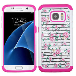 Galaxy S7 Pink Roses Case