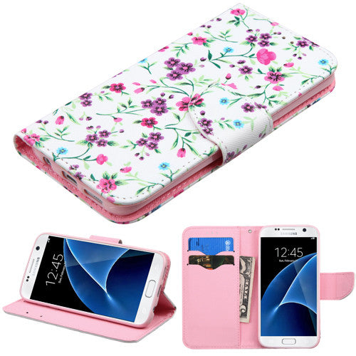 Galaxy S7 ASMYNA Fresh Falling Flowers Case