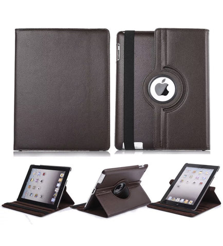 iPad Air 2 360 Rotating Leather Folio Smart Case in 5 Colors