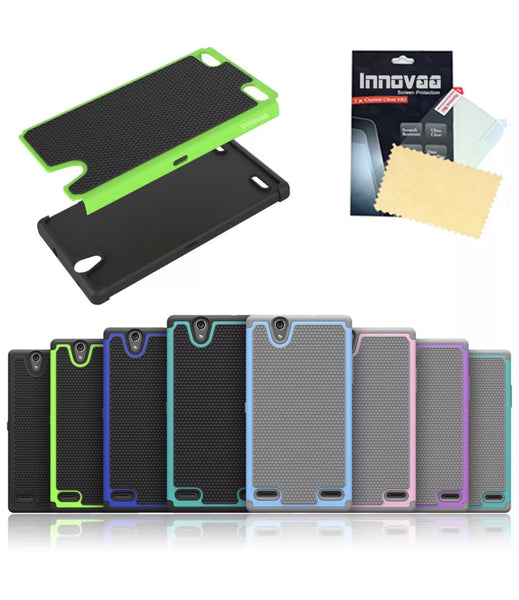 ZTE Lever Lte/Z936L Smart Grid Defender Armor Case in 3 Colors