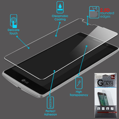 LG-LS775 (G Stylo 2) K520 (Stylus 2) Tempered Glass Screen Protector