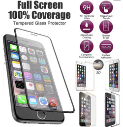 iPhone 7, 7 Plus New Premium Full Coverage Tempered Glass Screen Protector