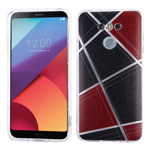 LG G6 Denim Irregular Geometric Design Candy Skin Cover