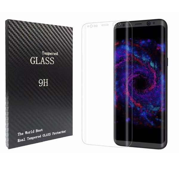 Galaxy S8 Plus Premium Full Coverage 9H Tempered Glass Screen Protector