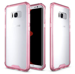 Galaxy S8 Plus Full Body Hybrid TPU Transparent Case in 2 Colors