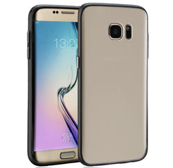 Galaxy Note 7 Ultra Thin Frosted Clear Phone Case In Black