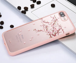 iPhone SE/5S Cherry Tree Branches and Leaves Acrylic Phone Case