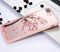 iPhone 7 Cherry Tree Flowers and Branches Acrylic Phone Case