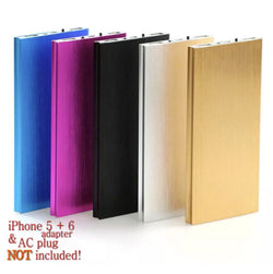 Ultra Thin 20,000 MAH Power Bank Dual Port Safety USB Charger - JAndJCases