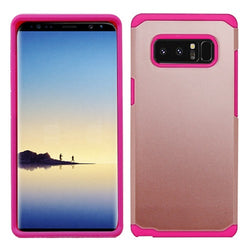 Galaxy Note 8 ASMYNA Rose Gold/Hot Pink Astronoot Phone Protector Cover (with Package)