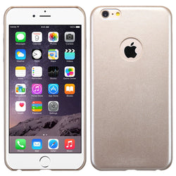 Gold Slim Back Protector Cover for iPhone 6 Plus - JandJCases