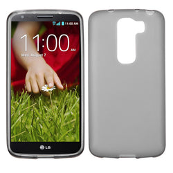 Semi Transparent Smoke Candy Skin Cover Rubberized for LG G2 Mini - JandJCases