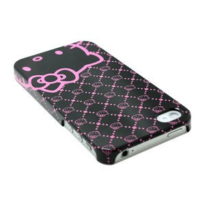Hello Kitty Licensed Polycarbonate Case for Apple iPhone 4 / 4S - Pink Neon - JandJCases